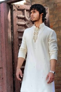 Shalwar Kameez Designs For Men Summer 2012 001 199x300 stylish dresses mens wear 2