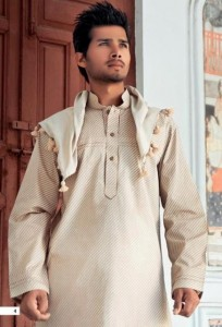 Shalwar Kameez Designs For Men Summer 2012 005 204x300 stylish dresses mens wear 2