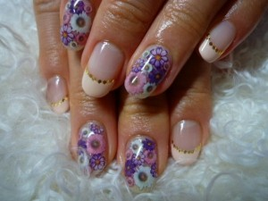 Simple Nail Art Designs for Summer 2012 004 300x225 nail art heath and beauty tips