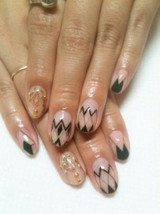 Simple Nail Art Designs for Summer 2012 005 225x300 nail art heath and beauty tips