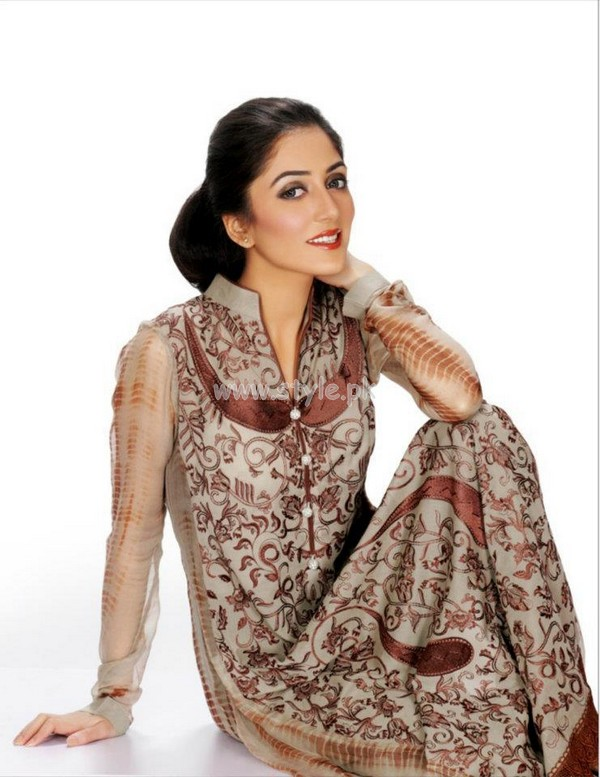 Taana Baana Latest Summer Party Dresses 2012 006 for women local brands
