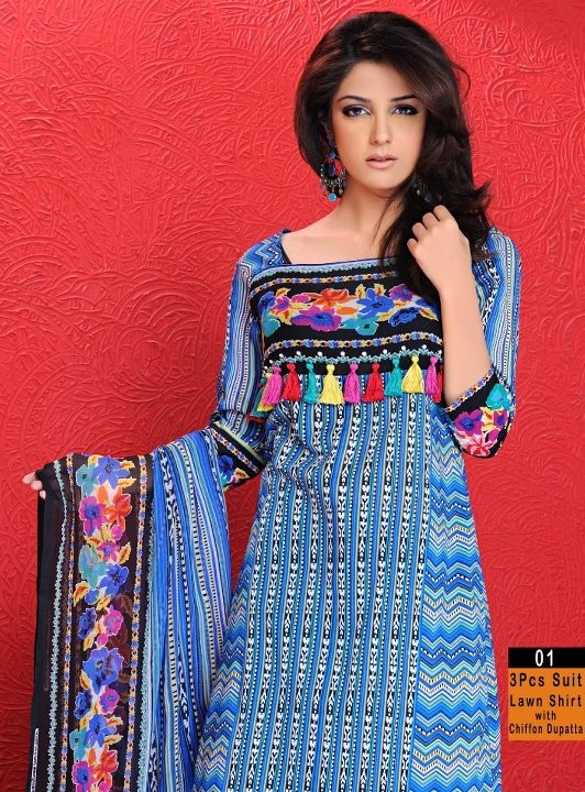 Warda Designer Collection 2012 007