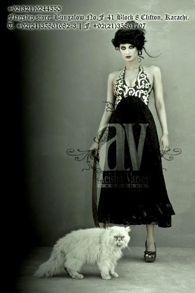 Aeisha Varsey Cocktail Gowns Collection 2012 for Girls 001