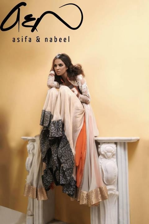Asifa Nabeel 2012 Latest Outfits for Ladies 001 for women local brands