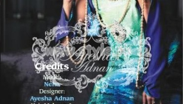 Ayesha Adnan Latest Summer 2012 Fashion Outfits 005