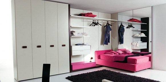 Swell Bedroom Designs Showcase Of Rooms For Teenagers By Clever 13 Inspirational Interior Design Netriciaus