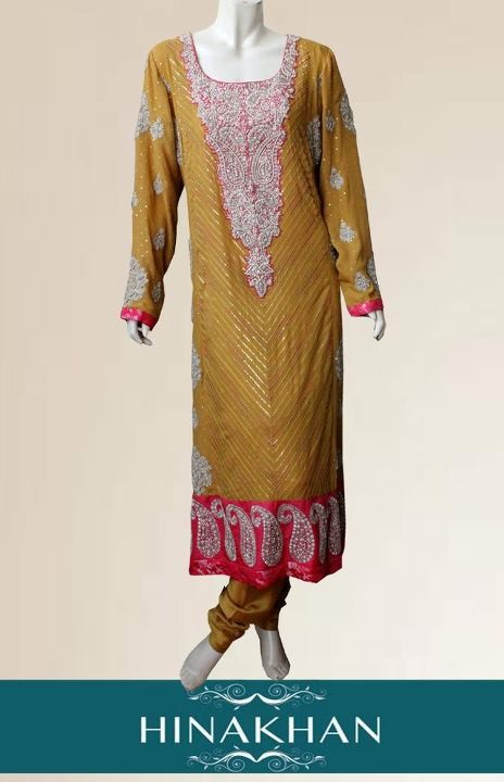 Hina Khan 2012 Latest Formal Wear Dresses for Women 001 for women local brands