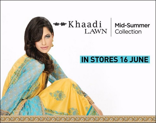 Khaadi lawn 2012 005 for women local brands