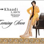 Khaadi Lawn 2012 Mid-Summer Collection Preview