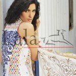 Lala Textiles Latest Brocade Summer Collection 2012 001