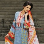 Lala Textiles Latest Brocade Summer Collection 2012 002