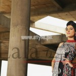 Latest Lala Textiles Summer Dresses 2012 For Women 008