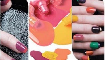 Latest Nail Color Trend 2012 In Summer Season 001