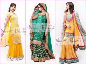 Noorz Boutique Mehndi Dresses 2012 For Women 001 300x223 wedding wear