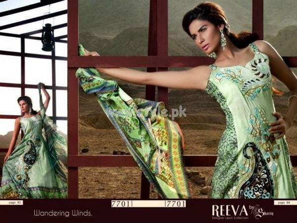 Reeva Lawn Summer 2012 Collection By Shariq Textiles 010