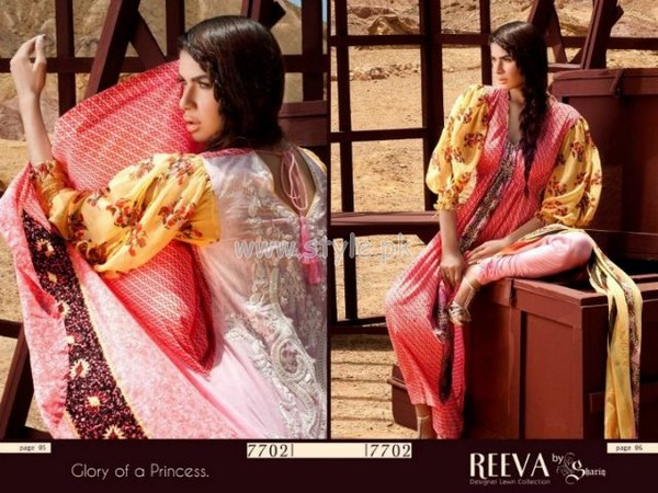 Reeva Lawn Summer 2012 Collection By Shariq Textiles 013
