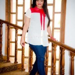 Sarah Ansar Latest Summer 2012 Western Dresses 003