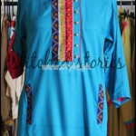 Sticthed Stories Latest Kurta Designs For Summer 2012 001