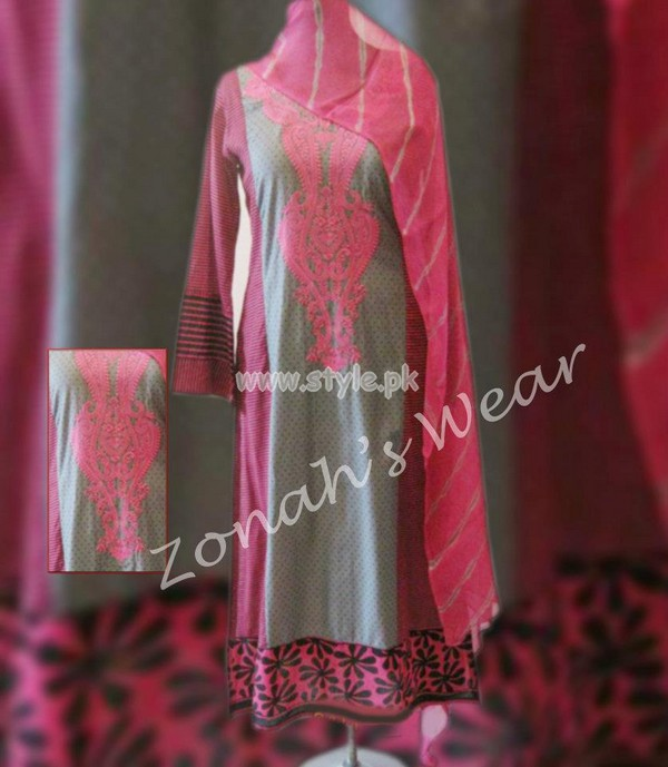 Zonahs Designer Wear Latest Summer Dresses 2012 008 for women local brands