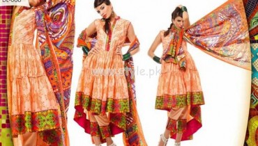 Al-Hamra Textiles Latest Eid 2012 Dresses Of Lawn 002