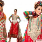 Al-Hamra Textiles Latest Eid 2012 Dresses Of Lawn 004
