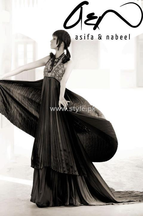 Asifa Nabeel Formal Wear Collection 2012 New Outfits 005 for women local brands