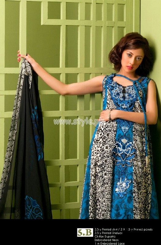 Ayesha Somaya Latest Summer Lawn Collection 2012 005