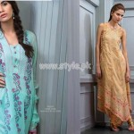 Bareeze Latest Eid 2012 Embroidered Collection For Women 004