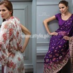 Bareeze Latest Eid 2012 Embroidered Collection For Women 005