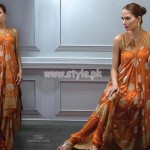 Bareeze Latest Eid Dresses For Women 2012 010