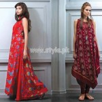 Bareeze Latest Eid Dresses For Women 2012 014