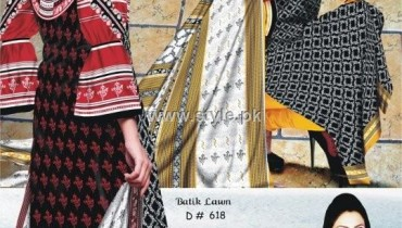 Batik Lawn 2012 Volume 3 by Moon Textiles