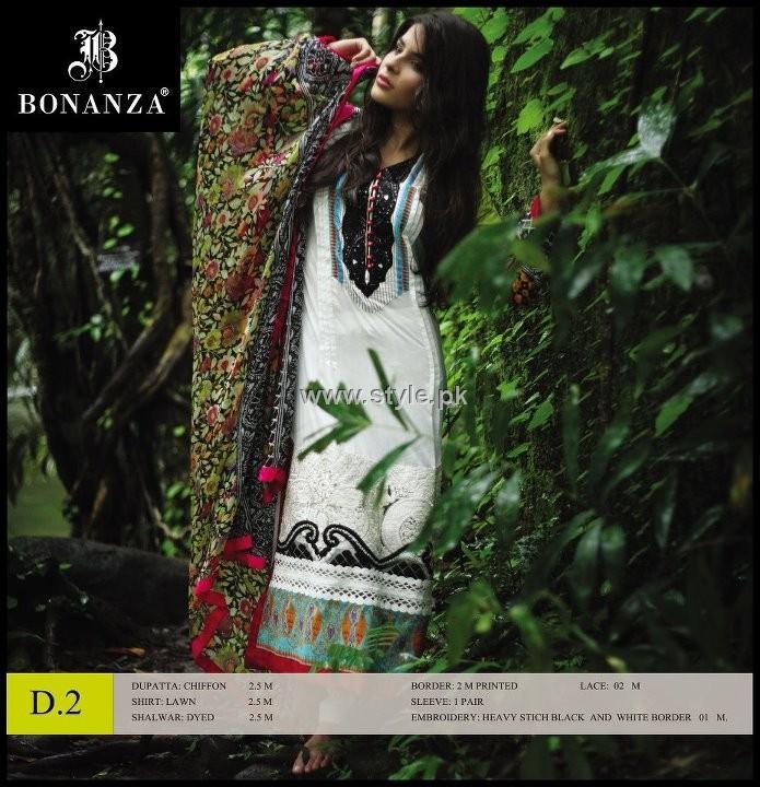 Bonanza Designer Series Lawn 2012 for Women