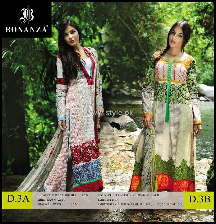 Bonanza Designer Series Lawn 2012 for Women