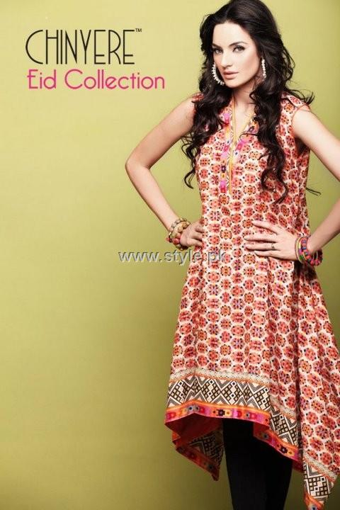 Chinyere 2012 Eid Outfits for Women and Girls 002 for women local brands chinyere bareeze pakistani brand