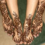 Eid Mehndi Designs 2012 For Feet