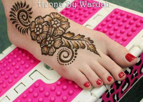 Eid Mehndi Designs 2012 For Feet 001100