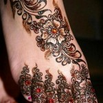 Eid Mehndi Designs 2012 For Feet 003