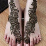 Eid Mehndi Designs 2012 For Feet 006