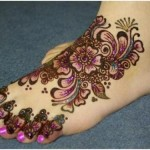 Eid Mehndi Designs 2012 For Feet 007
