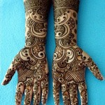 Eid Mehndi Designs 2012 For Girls
