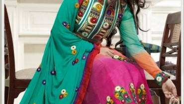Glamorous Anarkali Frocks Designs 2012 For Summer 001