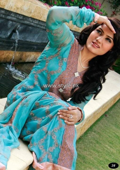 Image Fabrics 2012 Stylish Eid Dresses for Girls