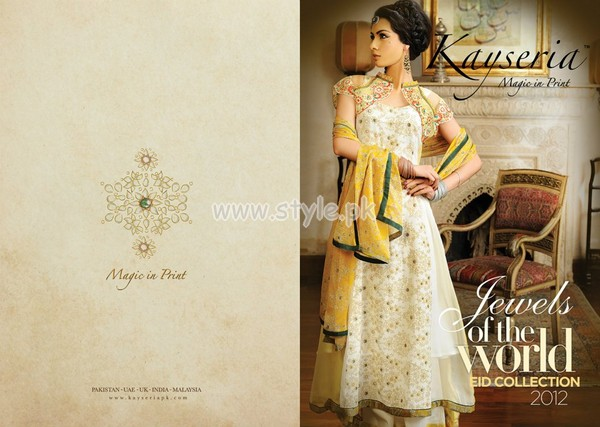 Kayseria Eid Catalog 2012 Jewel Collection 005 for women local brands bareeze pakistani brand