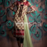 Mansha Stunning Summer Outfits For Eid 2012 010