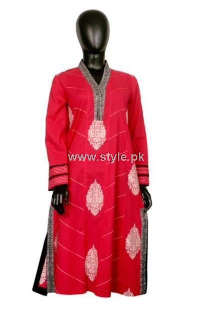 Mausummery Lawn Embroidered Classic Collection 2012 008