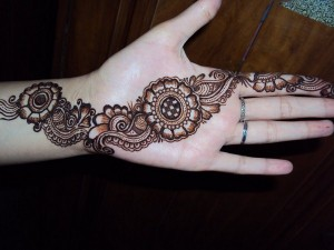 Mehndi Designs For Hands Very Simple : Pakistani simple mehndi designs for eid