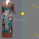 Teena by Hina Butt 2012 New Casual Wear Dresses 002