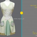 Teena by Hina Butt 2012 New Casual Wear Dresses 008