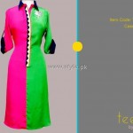 Teena by Hina Butt 2012 New Casual Wear Dresses 012